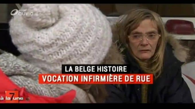 Vocation Infirmière De Rue – Le Belge Histoire De 7 à La Une