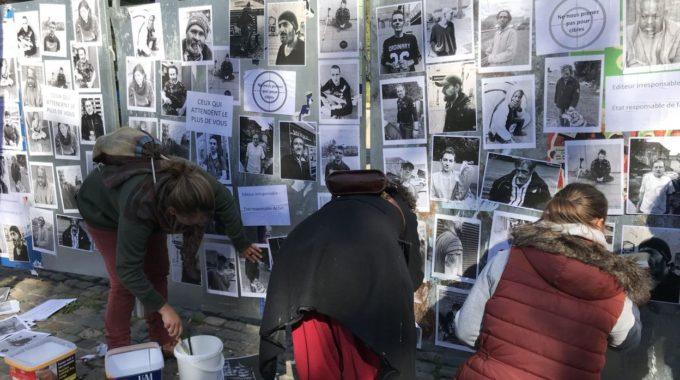 Liège : «Ceux Qui Attendent Le Plus De Vous»: Sensibiliser Au Sort Des SDF En Période De Campagne électorale