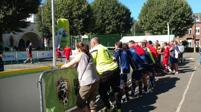 Mons: Un Championnat De Foot Pour Les Sans-abri