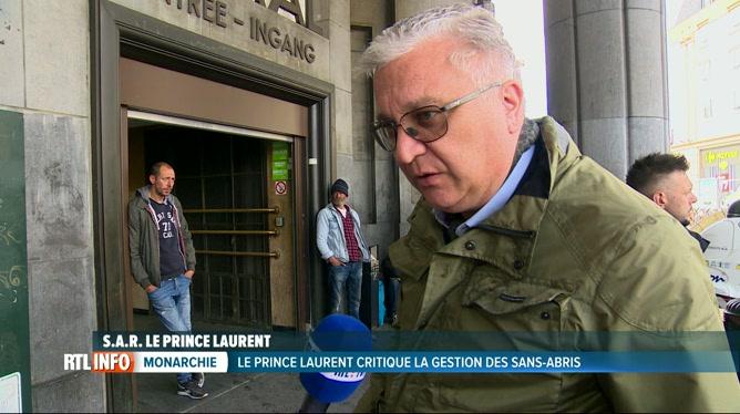 Le Prince Laurent: «Le Gouvernement Dépense Mal Son Argent, Au Détriment Des Sans-abri «