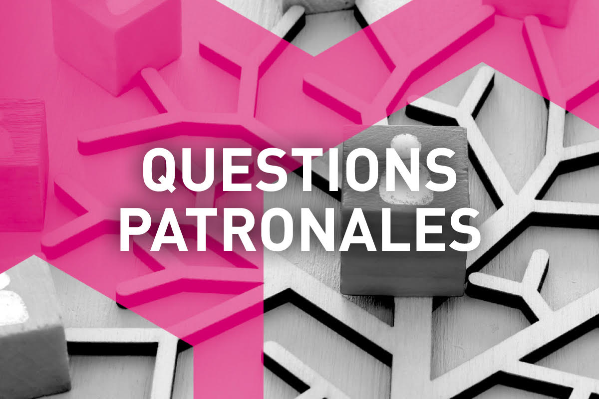Encart Question patronales