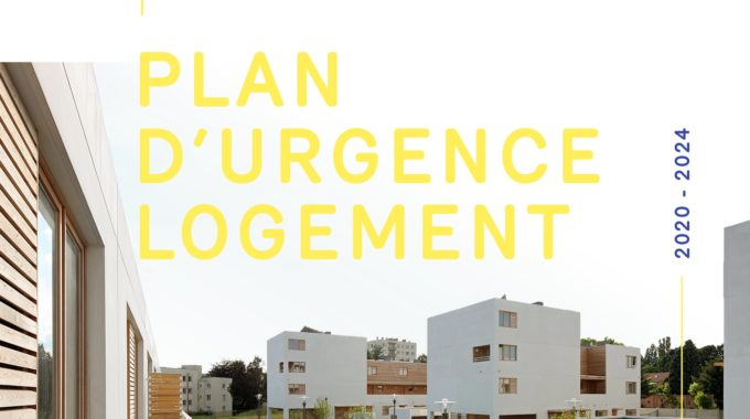 Plan D'urgence Logement 2020 2024